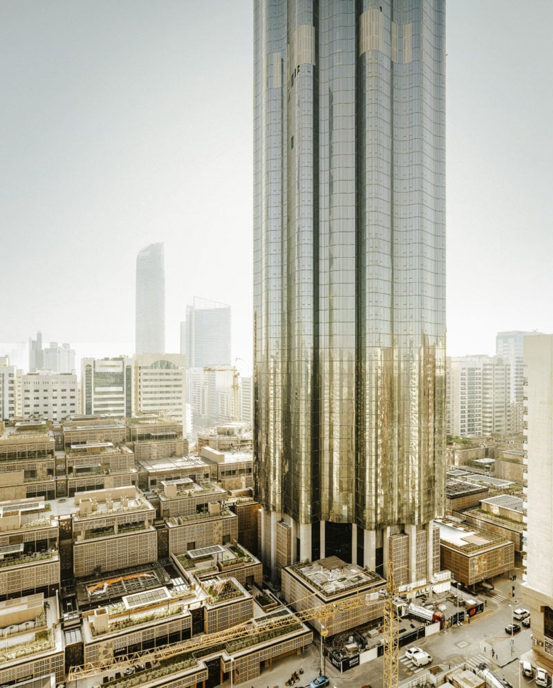 Central Market, Developer Altar, Foster Tower in Abu Dhabi